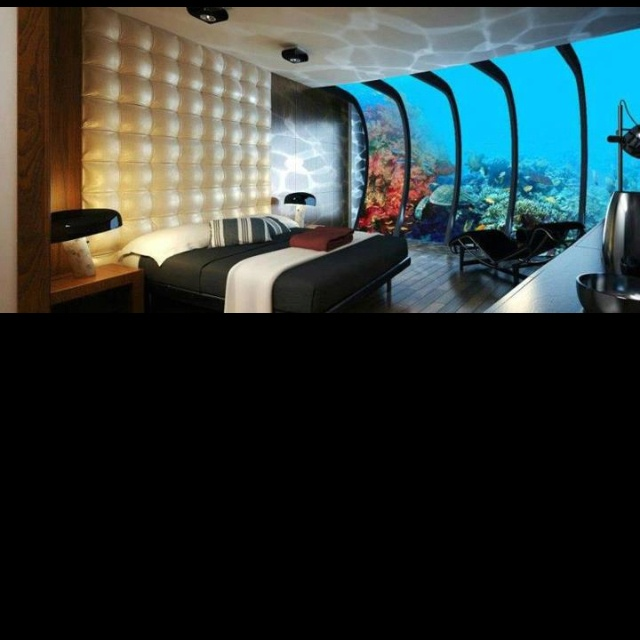 Chambre aquarium
