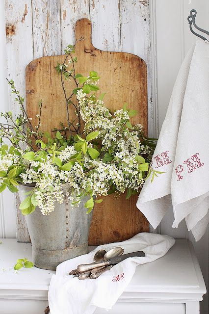 A little greenery in the kitchen......