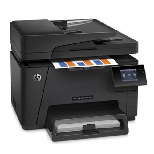 HP LaserJet Pro Wireless Colour All-In-One Laser Printer With Fax (M177FW) #SetMeUpBBY wow, i would love this