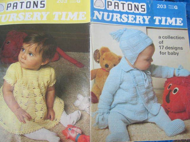 See Sally Sew-Patterns For Less - Baby's Nursery Time Sweaters Dress Matinee 17 Designs Knit