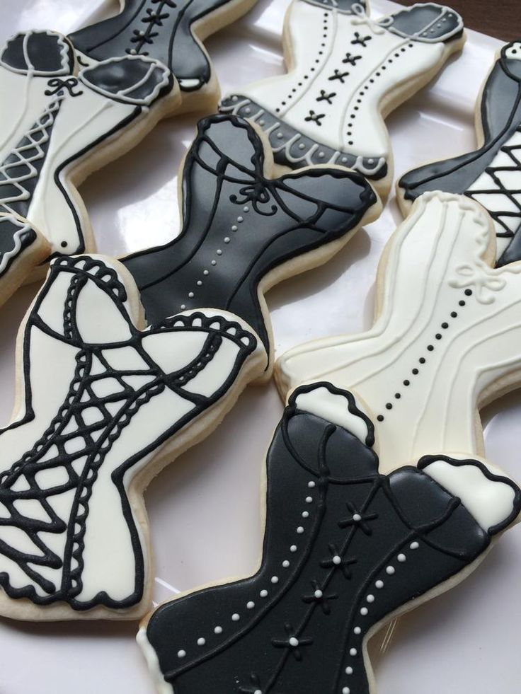 Corset Cookies, perfect for the Bachelorette!