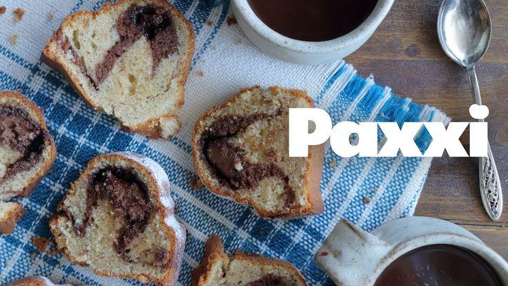 Κεικ γεμιστό με πραλίνα φουντουκιού - Paxxi 1min