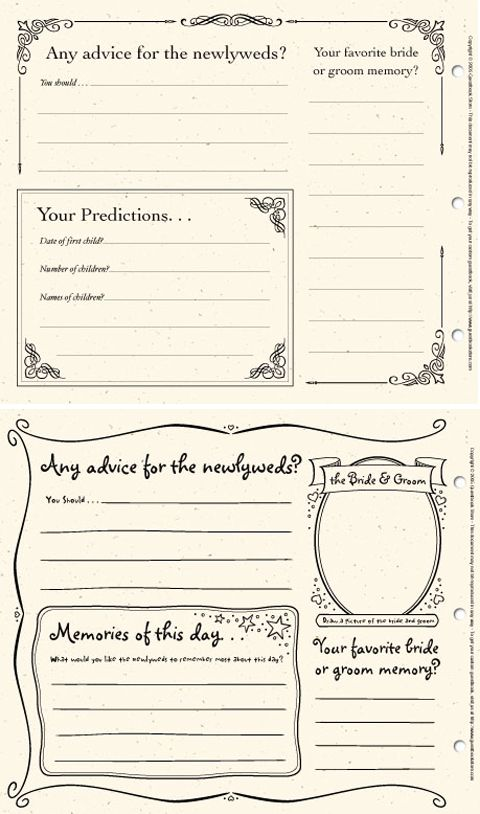 34 Best Dyi Printable Wedding Guest Book Alternative Templates