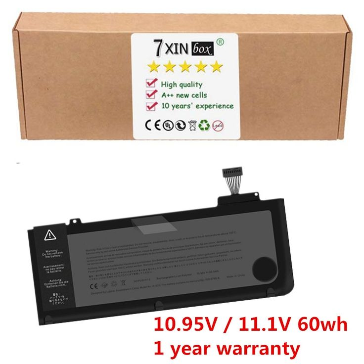 "31.24$  Buy here - http://aliirv.shopchina.info/1/go.php?t=1581820647 - ""7XINbox New Replacement Laptop Battery For 13"""" 2009 - 2010 Apple Macbook Pro A1278 Unibody Battery A1322 020-6547-A""  #aliexpress"