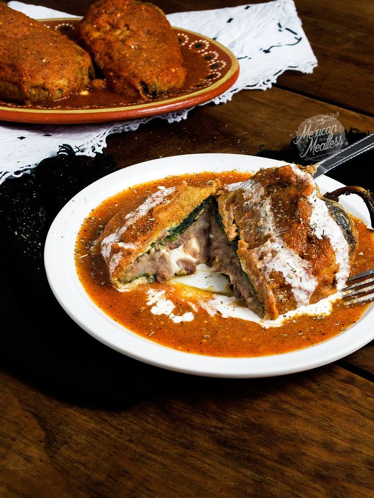 How to Make Vegetarian Chiles Rellenos