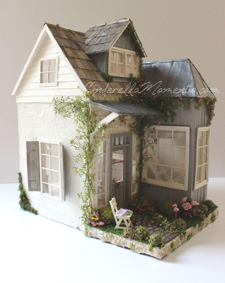 Plegable Asas - Abandonded Casa De Muñecas De Vida Vida djn691