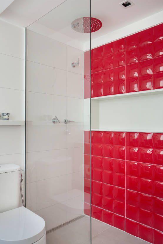 Banheiro da piscina : 모던스타일 욕실 by Ana Adriano