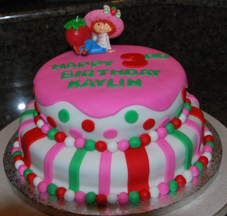 strawberry shortcake birthday cake | Strawberry Shortcake Birthday Cake — Children's Birthday Cakes