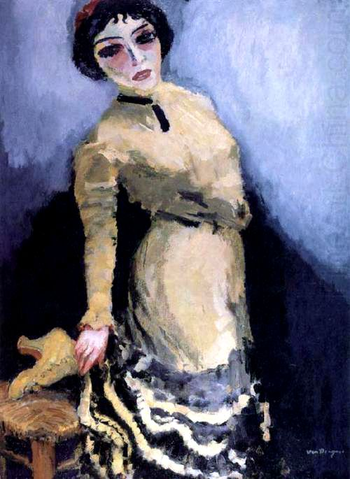 Kees van Dongen - The Yellow Boot, 1910