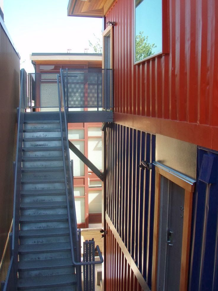Shipping Container Homes Unveiled In Vancouveru0027s Downtown