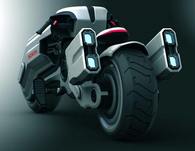Honda Chopper motorcycle