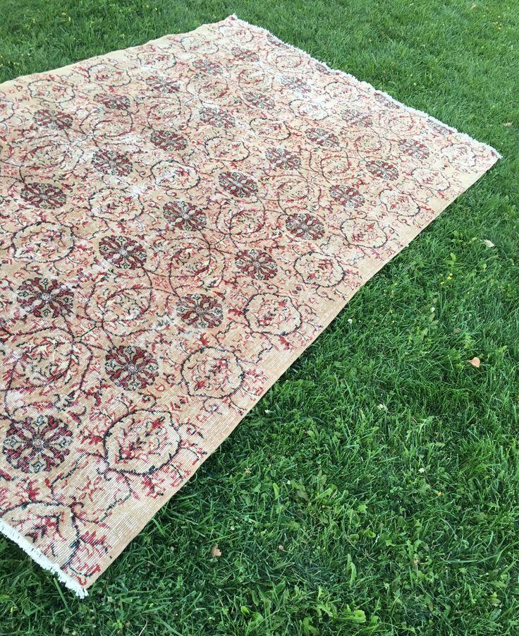 rug for living room size%0A   u    x  u        Oriental Persian Floral Pattern Vintage TURKISH RUG Room Size