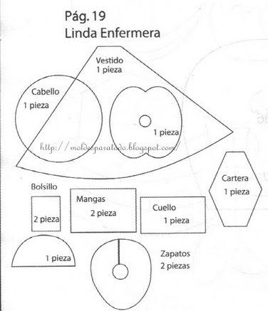 El Rincon Fofuchero: Fofuchas Area Здоровья медсестер*/os с формы