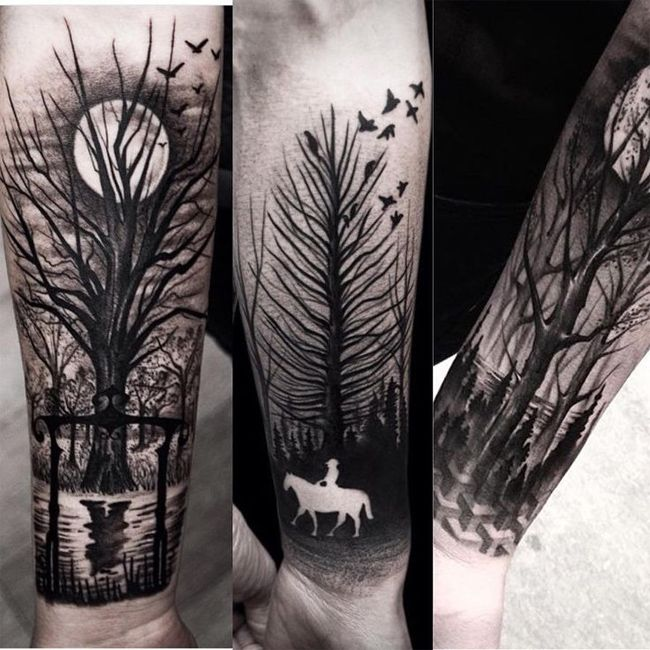 25 best ideas about negative tattoo on pinterest negative space tattoo black tattoos and sea. Black Bedroom Furniture Sets. Home Design Ideas