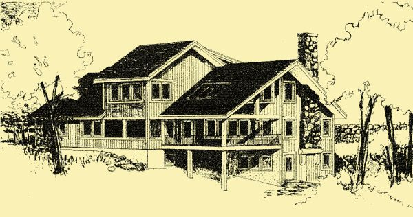 House Plans - Home Plan Details : Mountain Woods