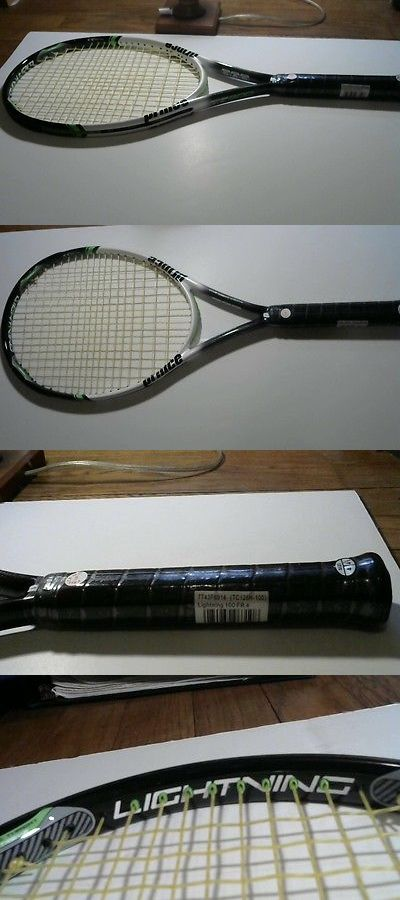 Racquets 20871: Prince Lightning Tennis Racket 4 1/2 Grip BUY IT NOW ONLY: $60.0
