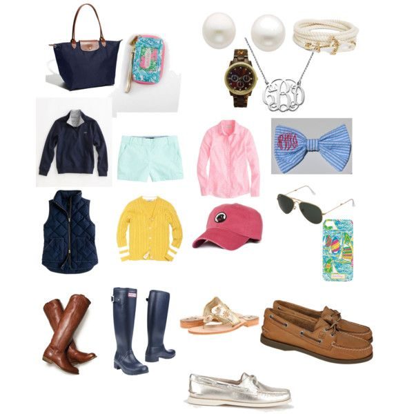 Preppy Essentials....pretty sure I've already amassed like half of this stuff