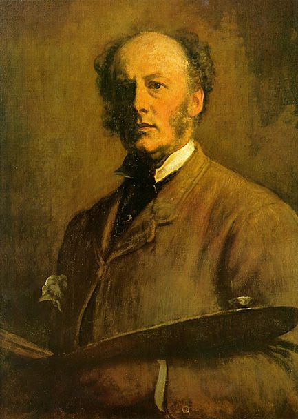 John Everett Millias (British, Pre-Raphaelite, 1829-1896):Self Potrait, 1855-1856. - Google Search