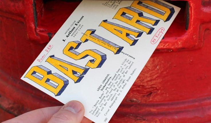 Creative contempt: Mr. Bingo's Hate Mail collection