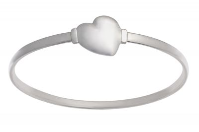 Bangle - MY HEART - Sterling Silver