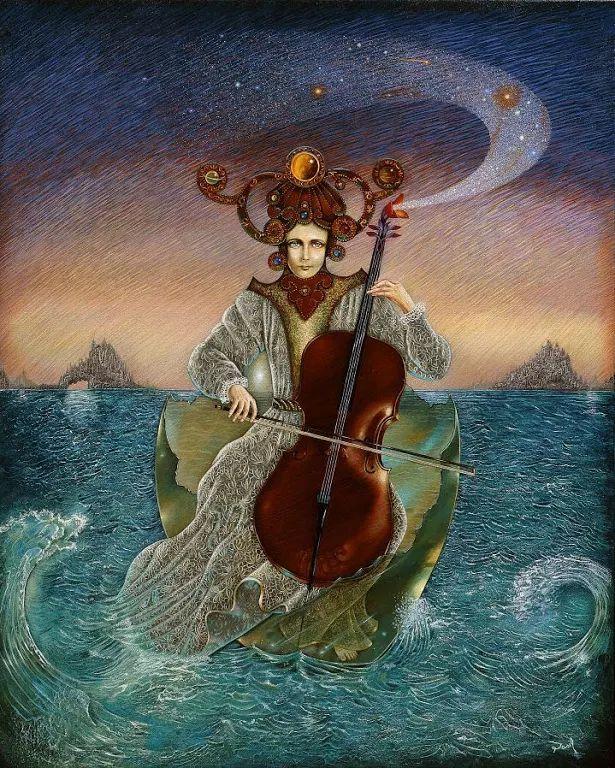 David Silva - Dasil - Mexican Surrealist painter - Artista messicano, lavora negli Stati Uniti.