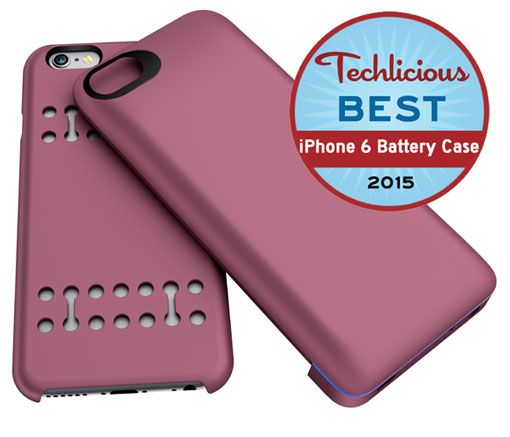 The Boostcase Power Case, with its attractive styling, wide variety of colors, flexible snap-on design and easy-to-access ports, wins our vote for the best iPhone 6 battery case.