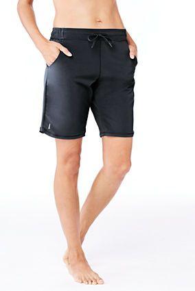 "Women's AquaSport 9"" Swim Shorts from Lands' End"