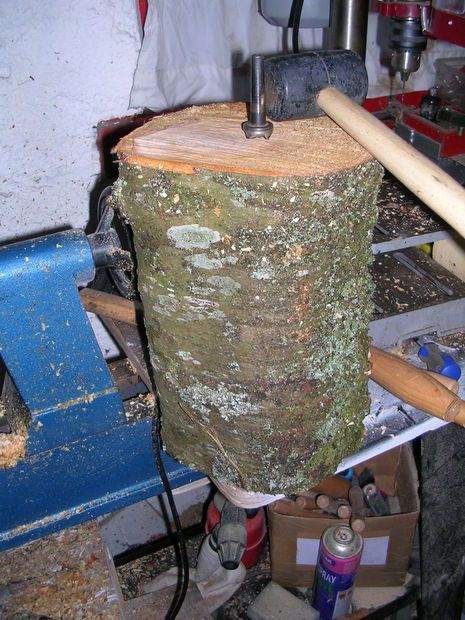 Seasoning Your Own Wood Turning Blanks From Fallen Tree Limbs.
