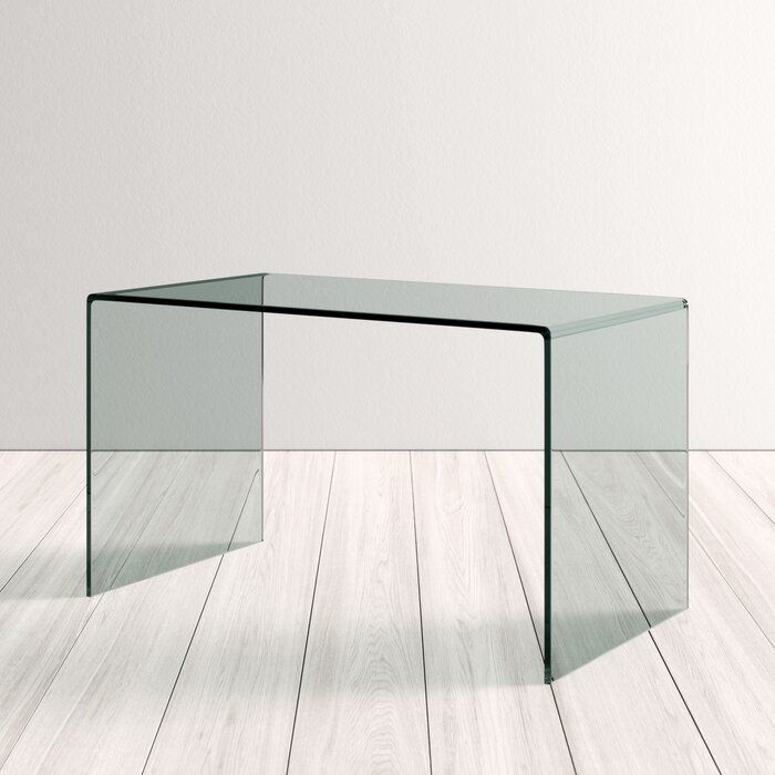 Mitzi Glass Desk Reviews Allmodern Glass Desk Minimalist Desk Office Furniture Modern