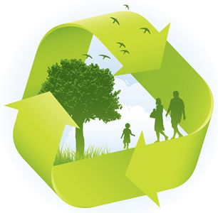 I feel encompassed by using an energy company that recycles.