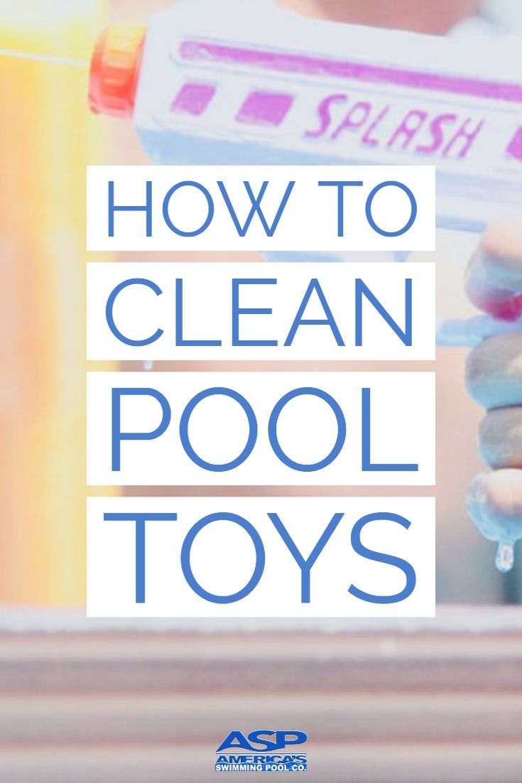 DIY pool cleaning and storage ideas for your swimming pool toys and floats. #poo…