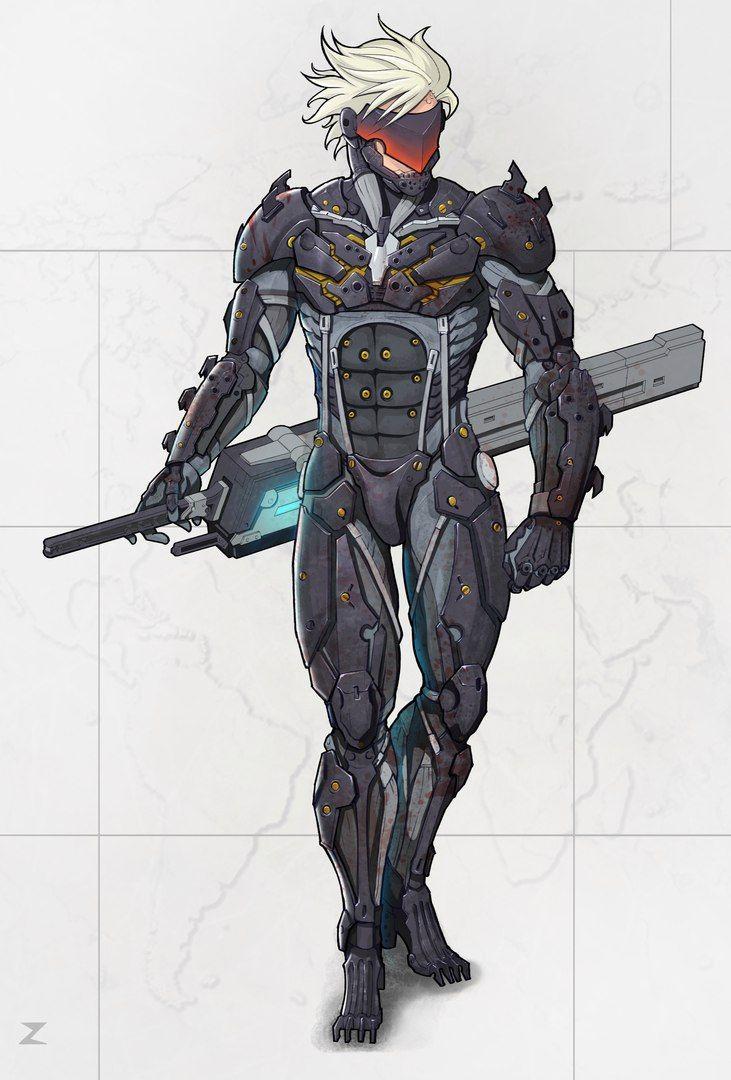 Raiden Metal Gear Rising Metal Gear Solid