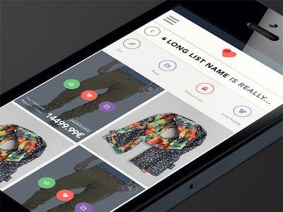 iOS: List view