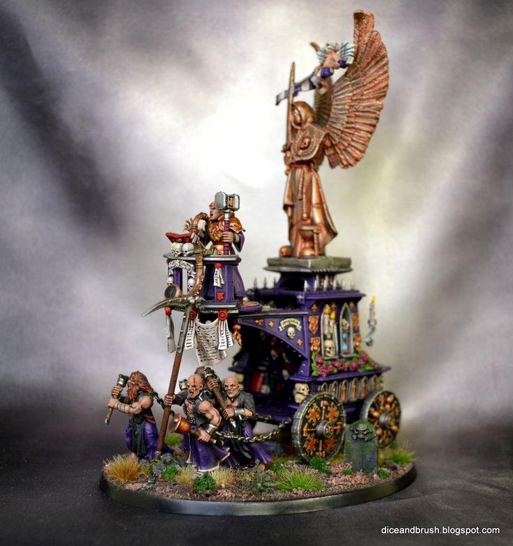 Age of Sigmar | Devoted of Sigmar | War Altar of Sigmar #warhammer #ageofsigmar #aos #sigmar #wh #whfb #gw #gamesworkshop #wellofeternity #miniatures #wargaming #hobby #fantasy