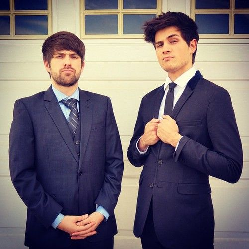 Ian and Anthony, looking official..haha! I laugh at them being official