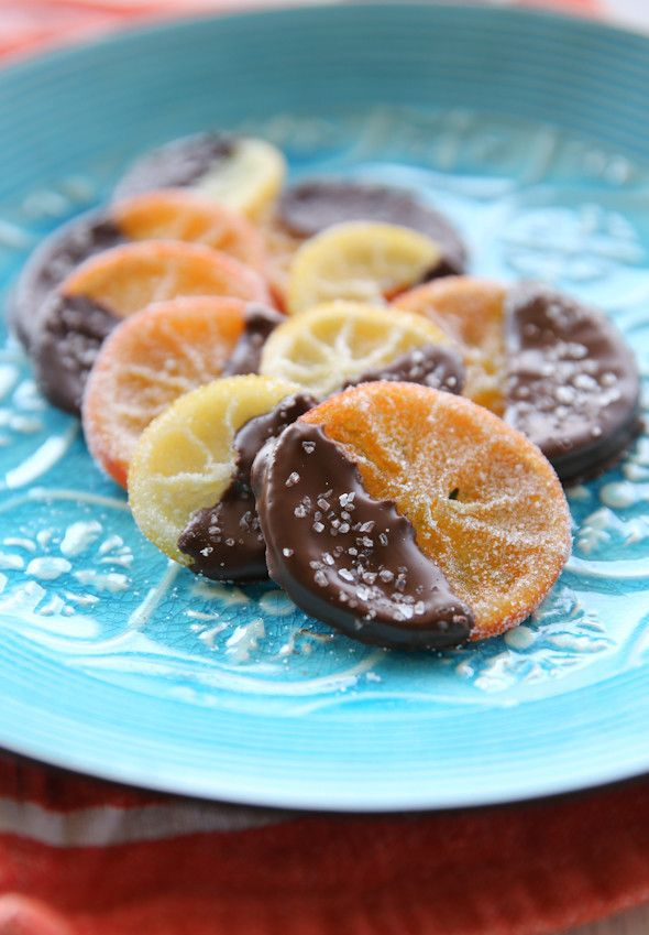 Salted Chocolate Covered Candied Citrus Slices | Our Best Bites | Bloglovin'