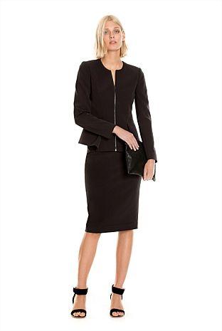High-Waisted Technical Skirt