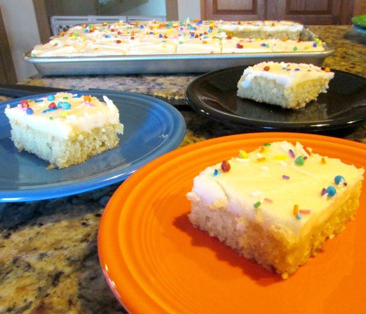Cake mix sheet cakes recipes