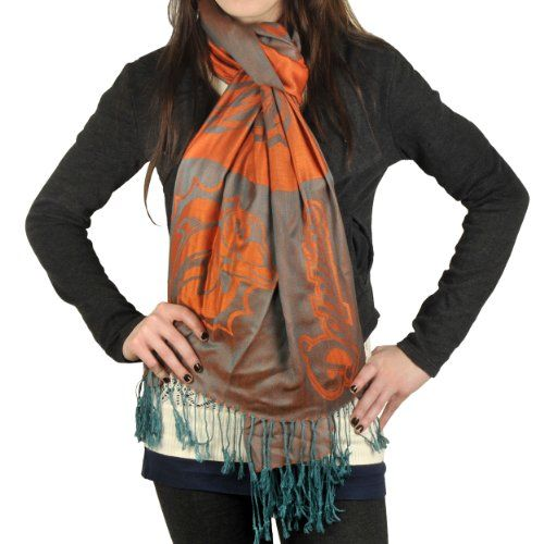 NFL Miami Dolphins 2011 Pashmina Scarf  https://allstarsportsfan.com/product/nfl-miami-dolphins-2011-pashmina-scarf/  Team colors and logo are highlighted on the scarf Officially licensed Pashmini lightweight fashion scarf