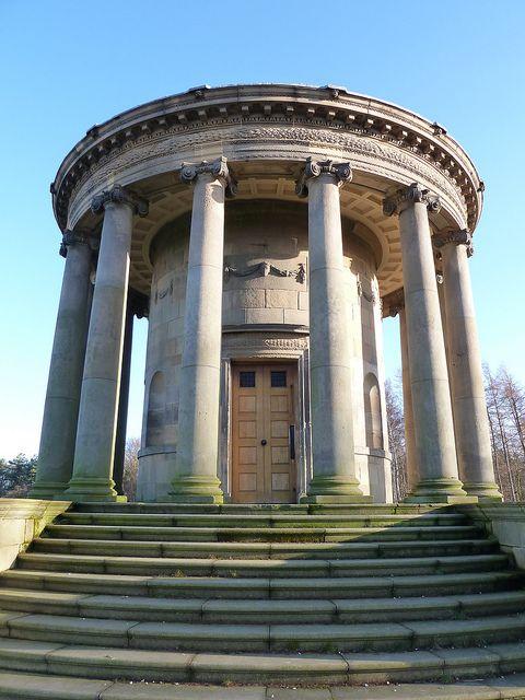 The Rotunda Wentworth Castle Barnsley Yorkshire by woodytyke, via Flickr