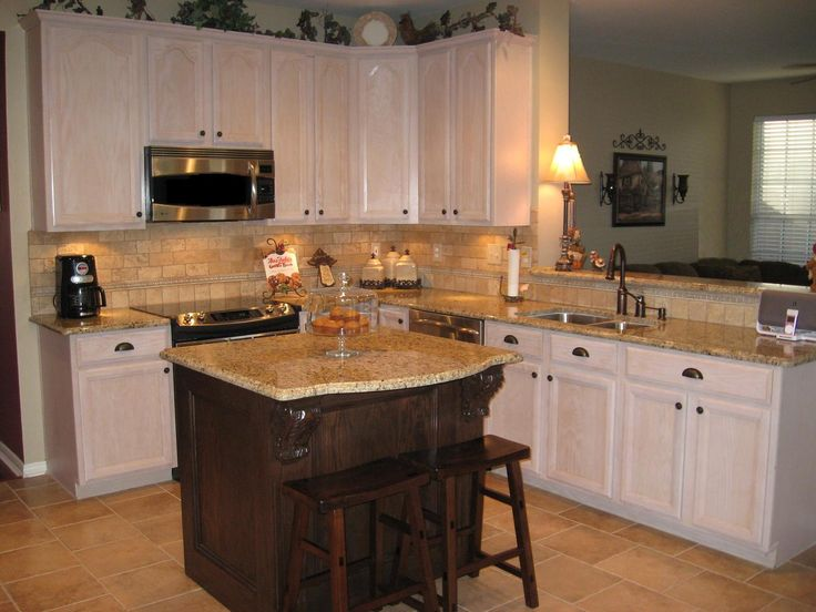 New Ian Gold Granite Kitchen Countertop Ideas Pictures 3