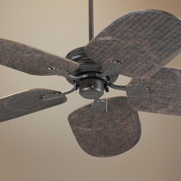 Bronze Havana Abs Blade Tropical Indoor Outdoor Ceiling: 17 Best Images About Ceiling Fans On Pinterest