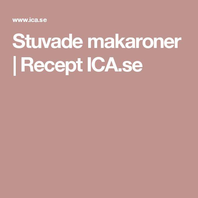 Stuvade makaroner | Recept ICA.se