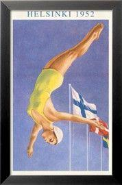 Olympic Diving, Helsinki, Finland, 1952