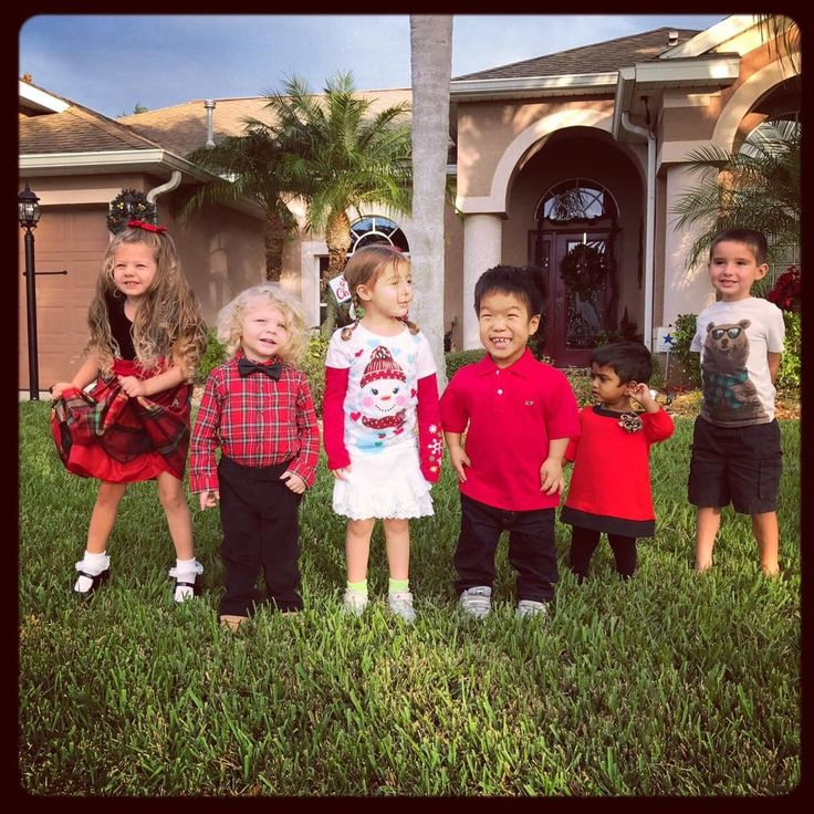 William, Zoey and cousins @Christmas 2016