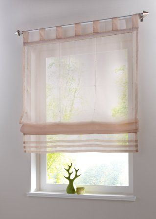 Best Eine hauchzarte Idee f r Ihr Fenster Das luftig leichte Raffrollo