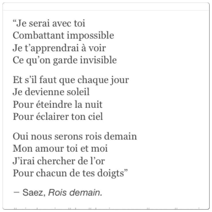 Beau poème