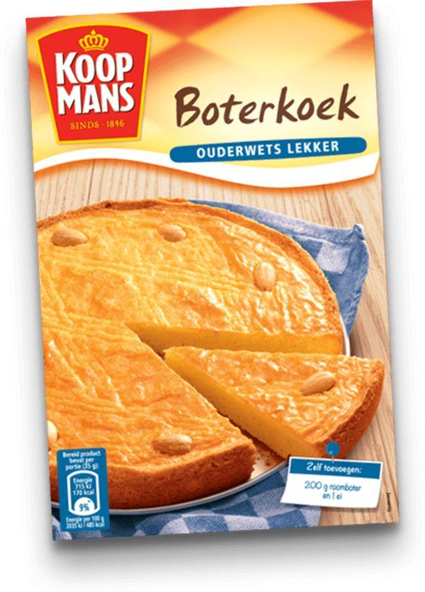 Maak een heerlijke Hollandse traktatie met Koopmans Boterkoek.