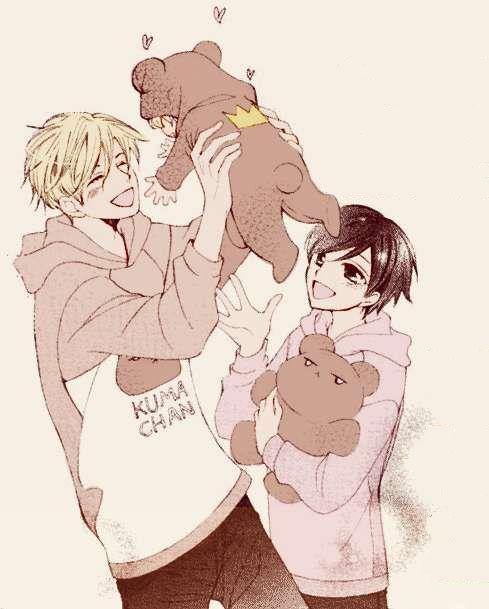 Tamaki, Haruhi & Baby~ So cute!