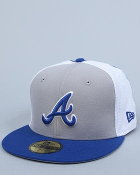 The Atlanta Braves NE G.O.A.T. 5950 fitted hat by New Era